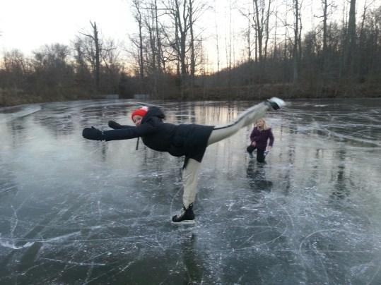 Katy - skating in artic vortex