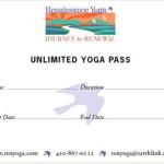 Renaissance Yoga Unlimited yoga pass