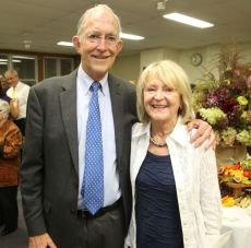 Wisdom Award recipients John and Lynn Fulkerson of Litchfield. John McKenna Photo