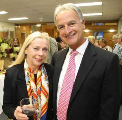 Patti and Joe DiChillo of Torrington. John McKenna Photo