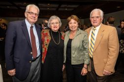 From left, Bill and Marge O'Dea of Woodbury stand with Joanne and John Logan of Roxbury, during the Seeds of Hope for Haiti Dinner & Gala at the Heritage Hotel and Resort in Southbury on Friday. Bill Shettle Republican-American