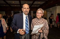 Sal and Leopla Gulino of Southbury enjoy themselves, during the Seeds of Hope for Haiti Dinner & Gala at the Heritage Hotel and Resort in Southbury on Friday. Bill Shettle Republican-American