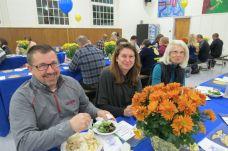 From left, Matt Starr, Ane Starr and Carol McCann, all of Kent