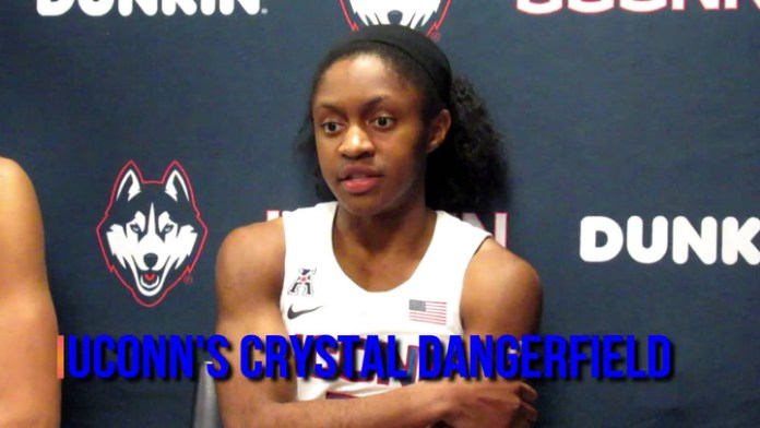 UConn's Crystal Dangerfield on team going forward