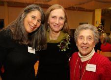 From left, Danielle Mailer of Goshen, Lisa Cruse of Sharon and Jo Radocchio of Goshen. John McKenna Photo