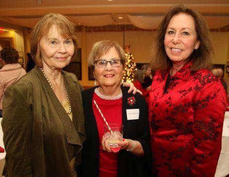 From left, Carole Gibney, Tina Bernacki and Maryanne McNeil, all of Litchfield. John McKenna Photo