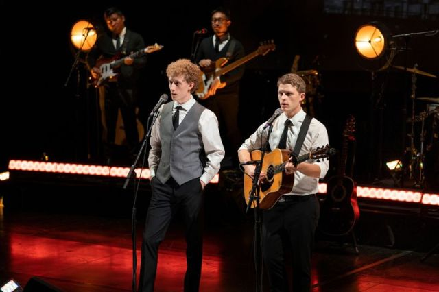 The Simon & Garfunkel stage show is coming to the Palace Theater in Waterbury on Jan. 25.
