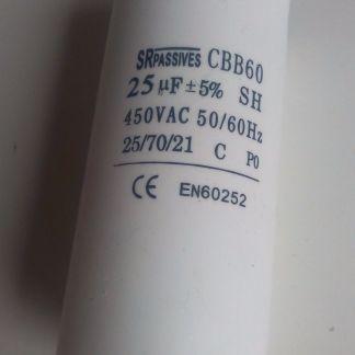 Condensateur permanent 25uf