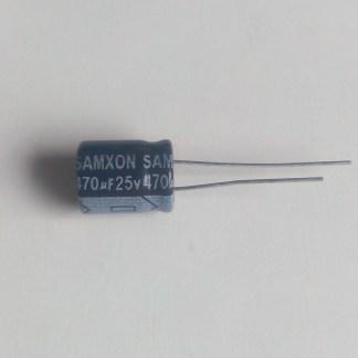 Condensateur chimique 470uf 25v