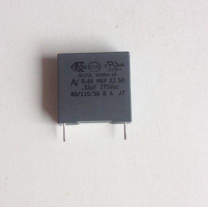 Condensateur 330nf x2 15mm