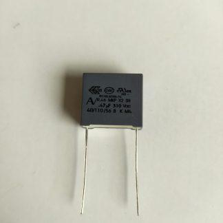 Condensateur 470nF x2 275v 310v