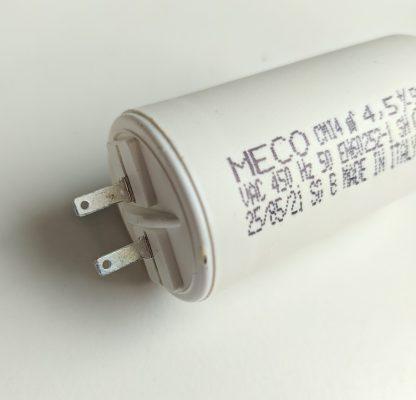 Condensateur volet roulant détail cosses