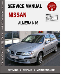 Manual Review 2001 Nissan Almera N16 Workshop Service