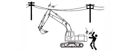 Excavator job safety knowledge