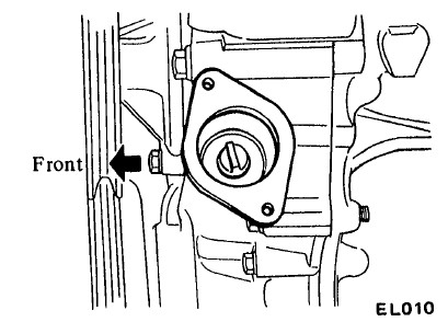 Nissan Datsun 280z engine lubrication system
