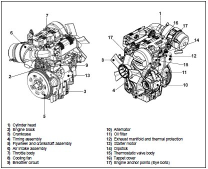 Lombardini LGW 523 mpi Automotive Engine Workshop Service