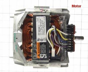 Whirlpool dryer motor test for Ge dryer motor test