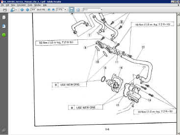 Yamaha FZR 400 Service Manual