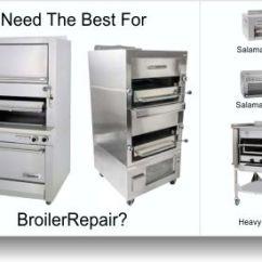 Commercial Kitchen Equipment Repair Outdoor Frame Broiler -
