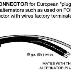 Denso Alternator 3 Pin Plug Wiring Diagram 2001 Saturn Sl2 Starter Connector Diagram, Denso, Get Free Image About