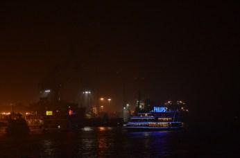 Sur les berges du Huangpu