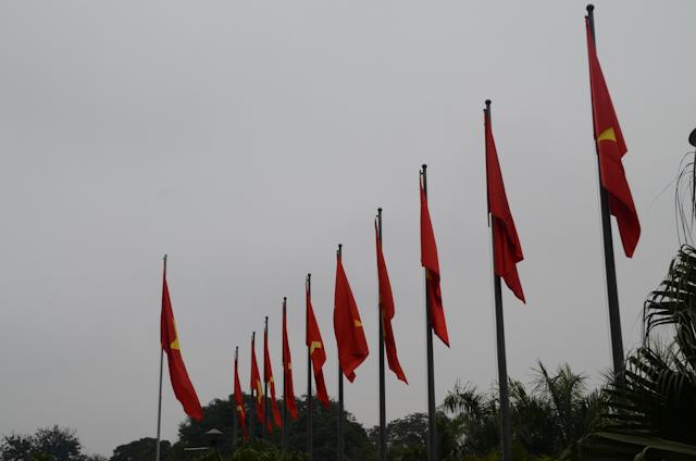 Hanoi - Mausolée d'Ho Chi Minh