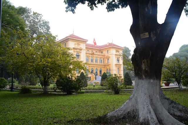 Hanoi - Palais présidentiel