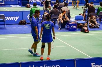 Bao Yixin (F) et Liu Cheng (M) , étoiles montantes du double mixte, 4e mondiaux et 3e chinois