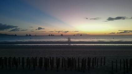 Sunset White Beach Boracay