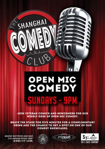 Shanghai Comedy Club Open Mic Sunday