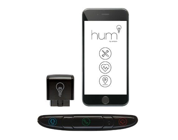 "Verizon's OnStar and AAA competitor ""hum"" has hit the market, offering drivers a chance for help during a breakdown or crash and actively scanning the vehicle for diagnostic codes. (Provided by Verizon via PRNewsFoto)"