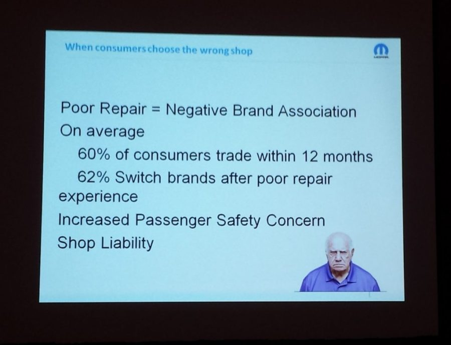 FCA research has found that half of customers dropping an automotive brand do so because of a bad repair. (John Huetter/Repairer Driven News)