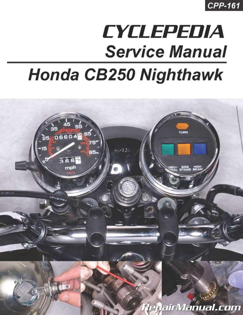 medium resolution of honda cb250 nighthawk