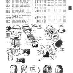 Harley Davidson Motorcycle Parts Diagram Ignition Coil Wiring Manual 1940 1950 45 Cubic Inch 750cc Solo Servi