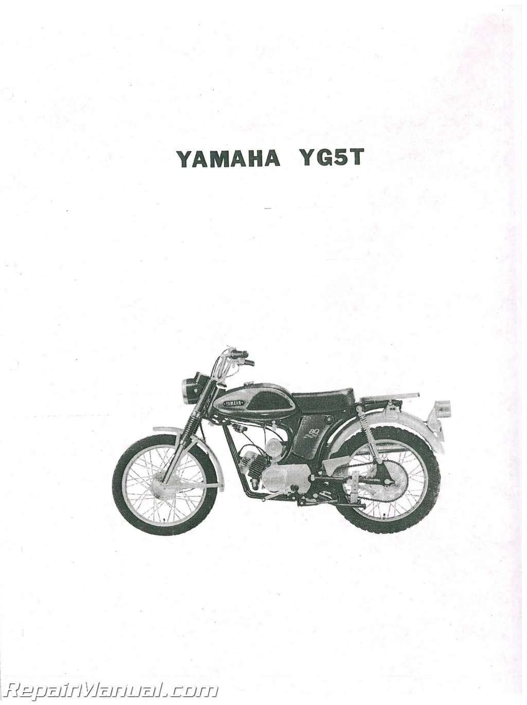 1969 Yamaha YG5T Trailmaster 80 Parts Manual