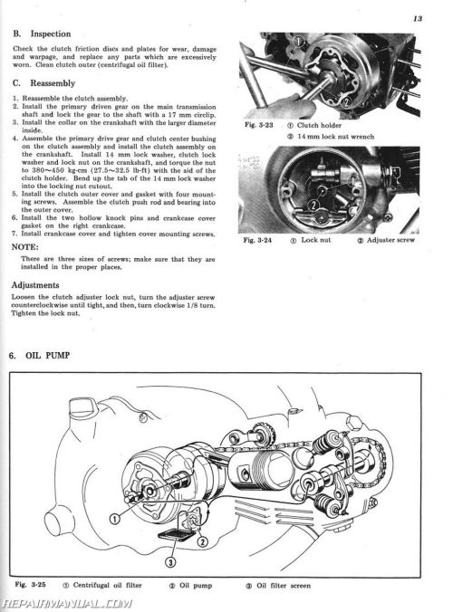 small resolution of wiring diagrams source 1971 1976 honda sl70 xl70 motorcycle service manual rh