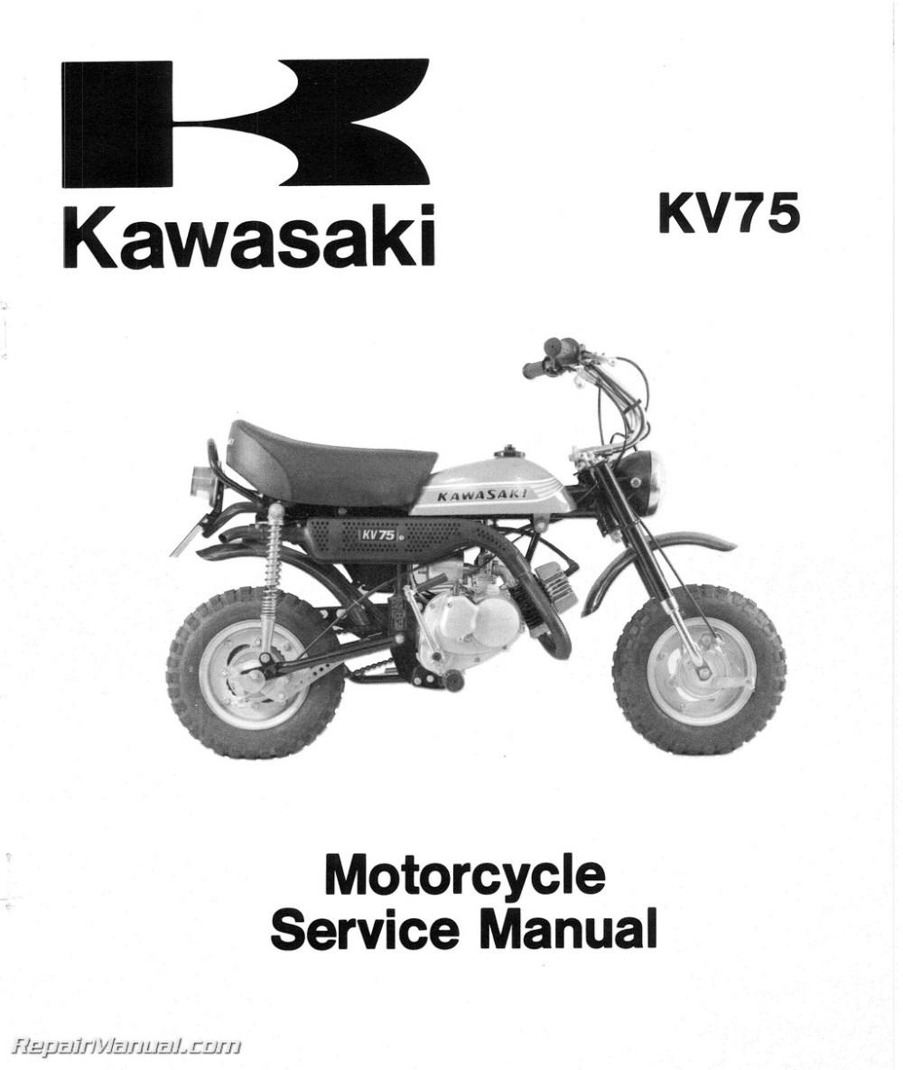 medium resolution of 1971 1980 kawasaki mt1 kv75 motorcycle service manual kawasaki mt1 wiring diagram