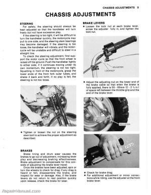 19711980 Kawasaki MT1 KV75 Motorcycle Service Manual