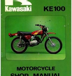 1971 1981 kawasaki g5 ke100  [ 1024 x 1325 Pixel ]