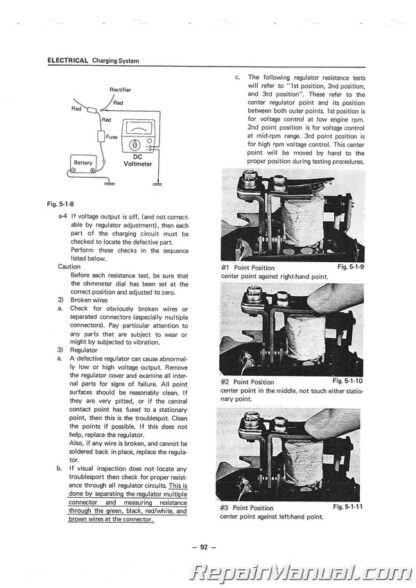 1972-1975 Yamaha R5C DS7 RD250 RD350 Service Manual