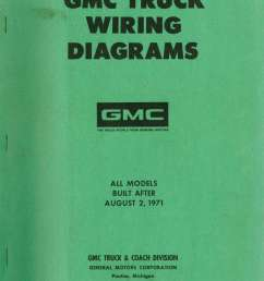 wiring diagram for 1971 gmc truck [ 1024 x 1373 Pixel ]
