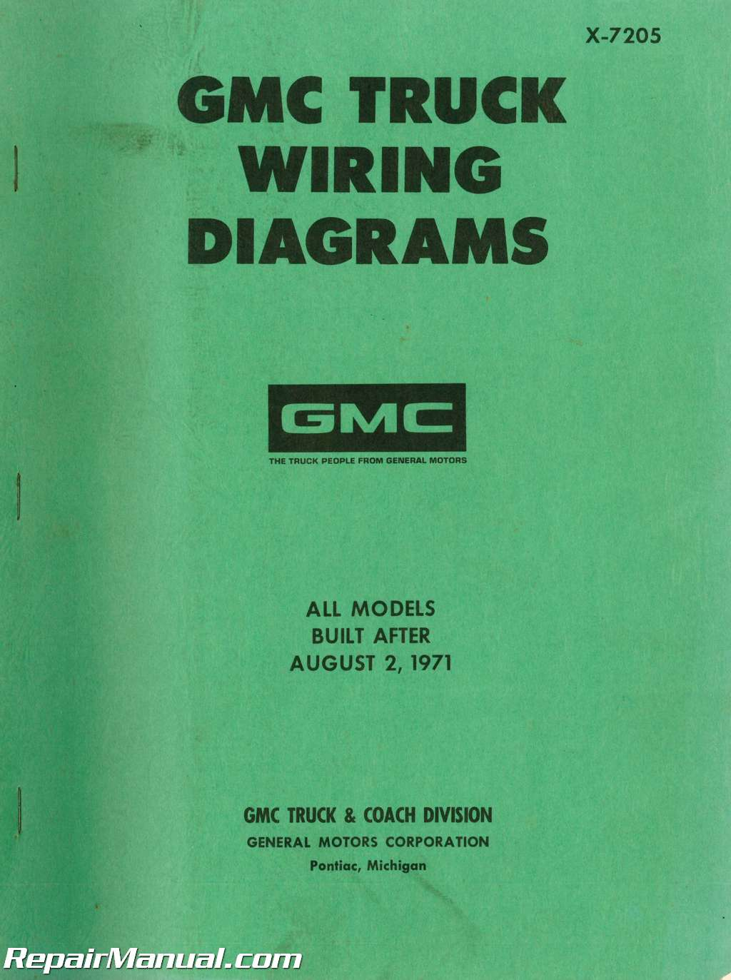 hight resolution of wiring diagram for 1971 gmc truck