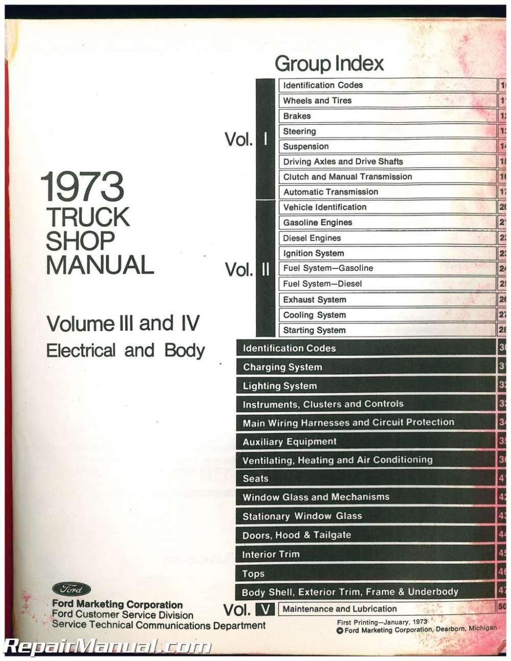 medium resolution of used 1973 ford truck