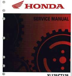 1978 honda xl125 wiring pic [ 1024 x 1325 Pixel ]