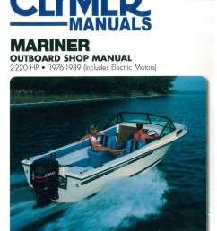 1976 1989 mariner 2 220 hp outboard boat engine repair manual [ 1024 x 1339 Pixel ]
