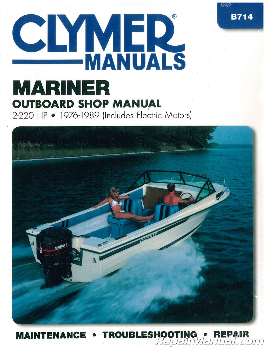hight resolution of 1976 1989 mariner 2 220 hp outboard boat engine repair manual