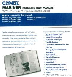 wiring diagram 1976 1989 mariner 2 220 hp outboard boat engine repair manual on mariner 70  [ 1024 x 1106 Pixel ]