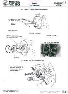 1977-1983 Honda NA NC50 EXPRESS Scooter Shop Manual