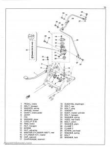 1977 Yamaha XS750D XS7502D Service Manual