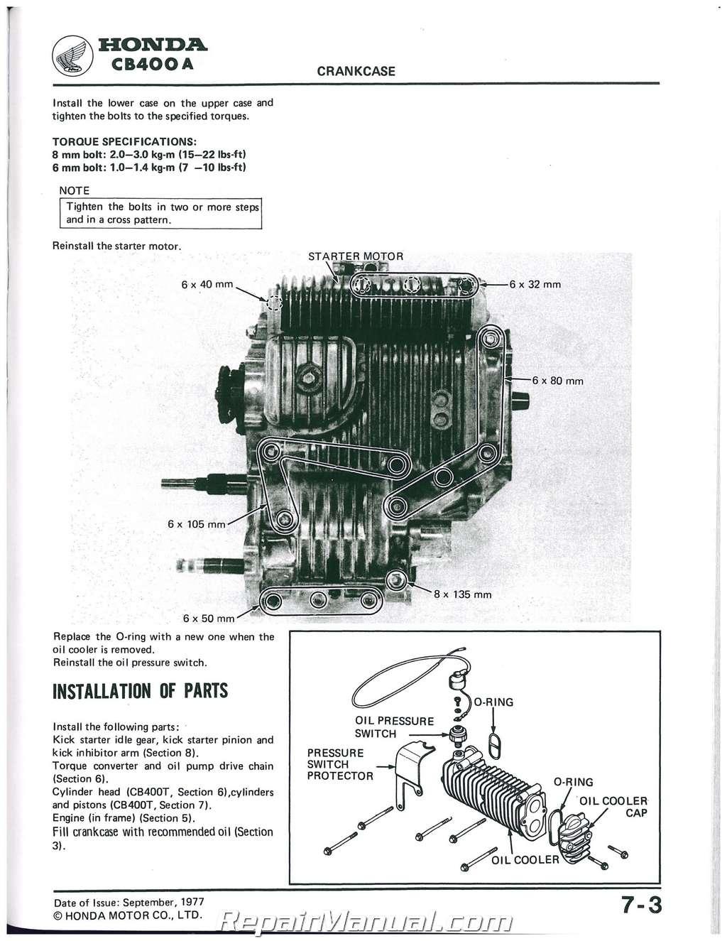 Cb400f Wiring Diagram 4into1com Vintage Honda Motorcycle Parts Blog